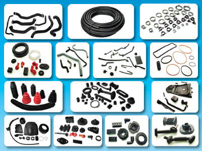 Wide range of rubber products