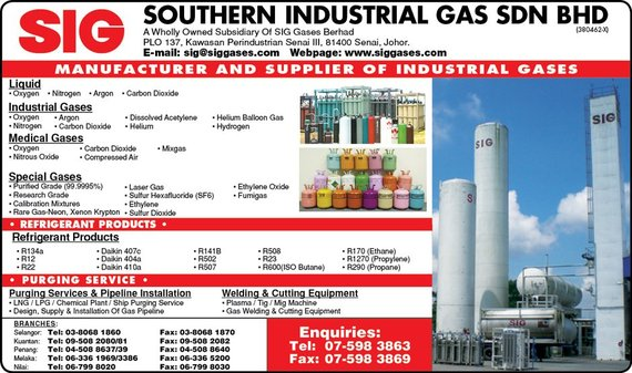 Galleries Southern Industrial Gas Sdn Bhd