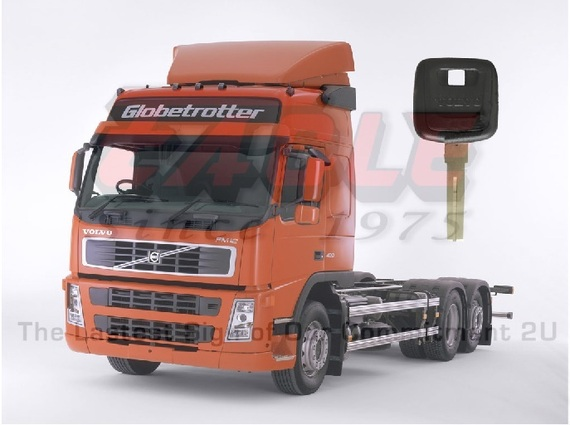 Truck Transponder Key
