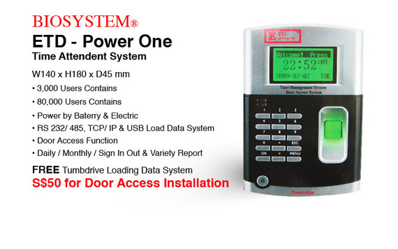 Biosystem Power One Time Attent Sys