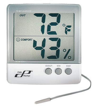 Cole parmer Jumbo Display Thermohygrometer