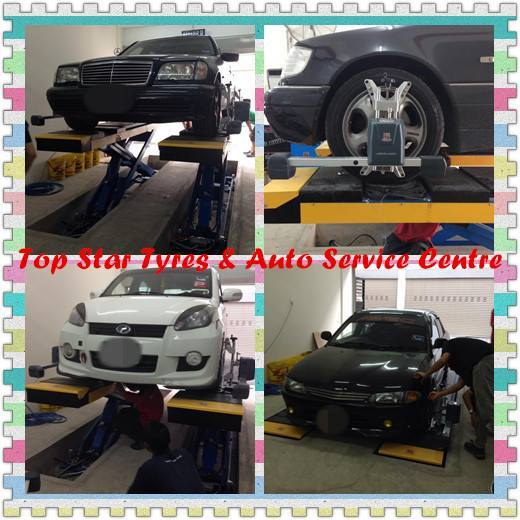 *MERCEDES / P.WIRA / P.MYVI* BALANCING & ALIGNMENT
