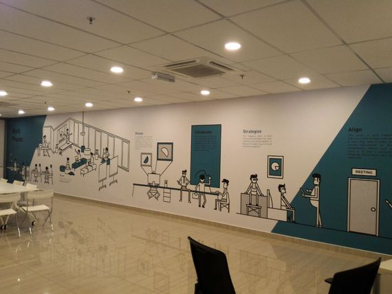 Versalink Meeting Room Wallpaper
