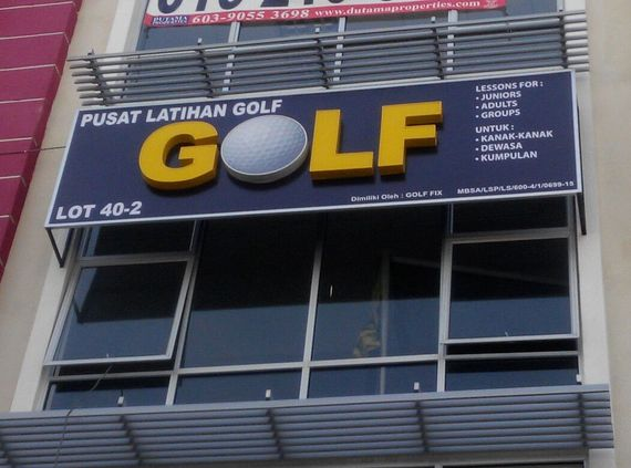 3D EG Frontlit LED Sign