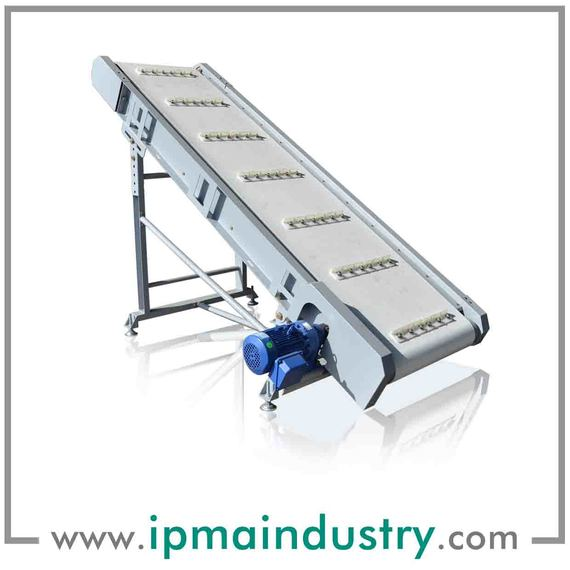 Incline Mobile Belt Conveyor
