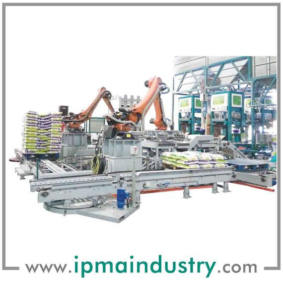 Fully Integrated Automatic Packing & Palletizing System