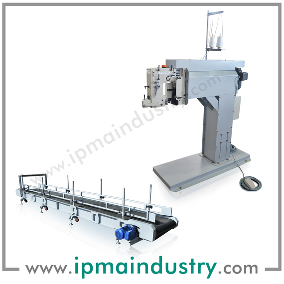Bag Sewing & Discharge Conveyor