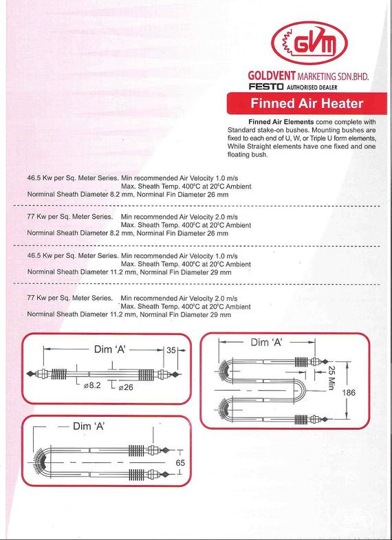 Heaters & Thermocouples