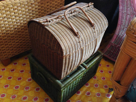 RATTAN BASKET AND BOXES