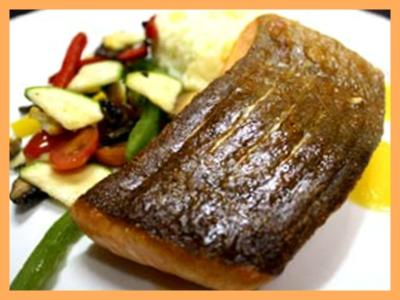 Pan Fried Norwegian Salmon Steak