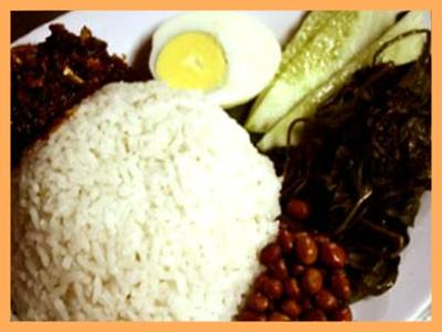 Our Famed Nasi Lemak