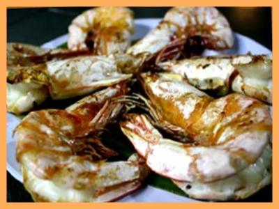Grilled Giant Prawn