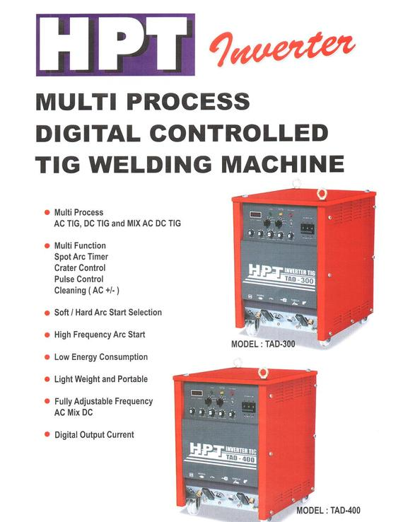 Multi Process Digital Controlled TIG Welding Machine