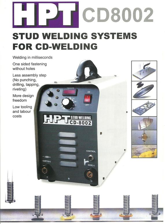 Stud Welding System For CD Welding