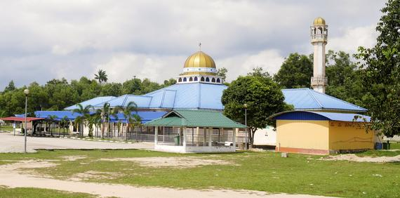 Mosque is nearby the Site
