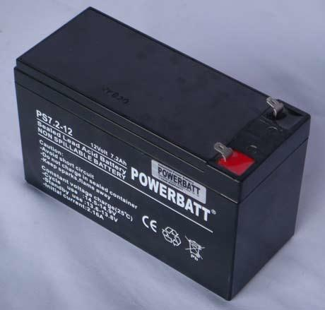 7.2ah 12v SLA Battery