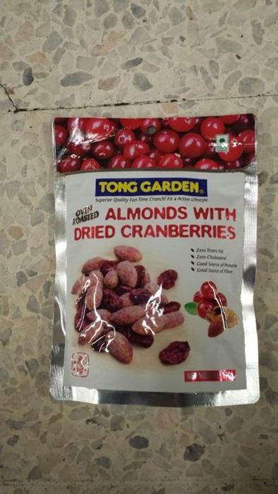 Almond Dried Cranberries 140G