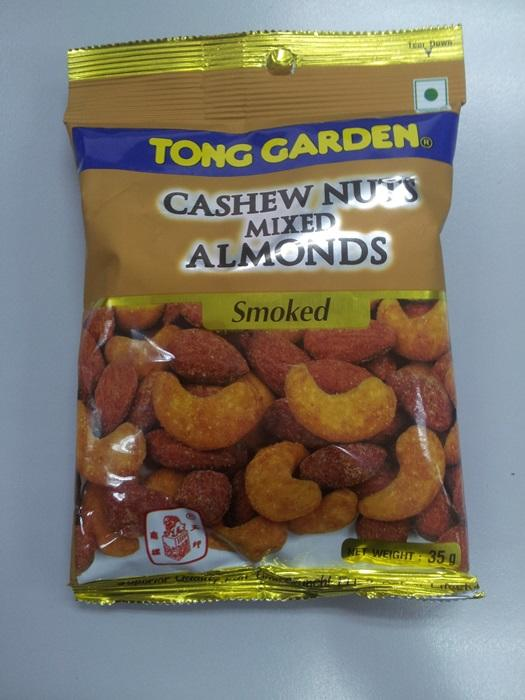 Cashewnuts Mixed Almonds Smoke 35g