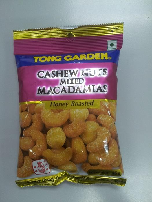 Cashewnut Mixed Macadamias Honey 35g