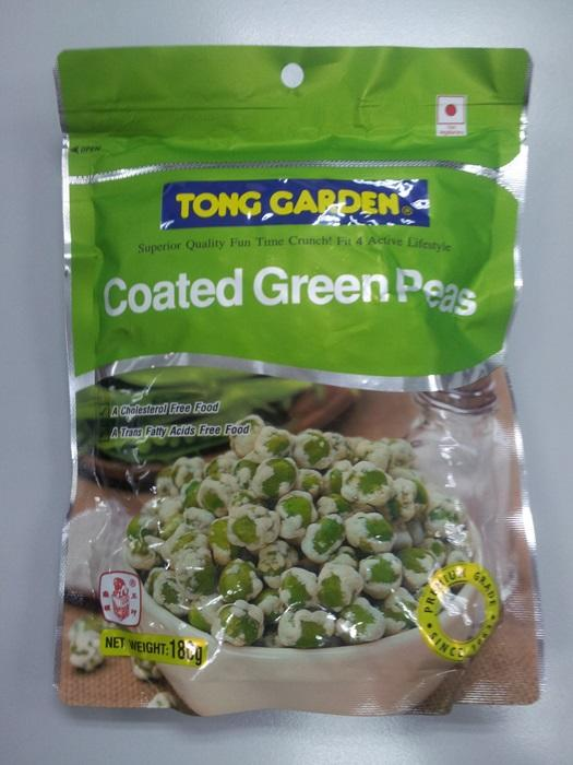 Coated Green Peas 180g