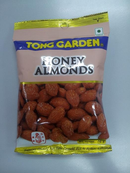 Honey Almonds 40g