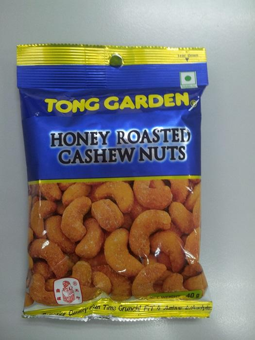 Honey Cashewnuts 40g