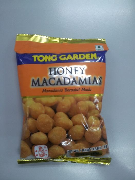 Honey Macadamias 40g