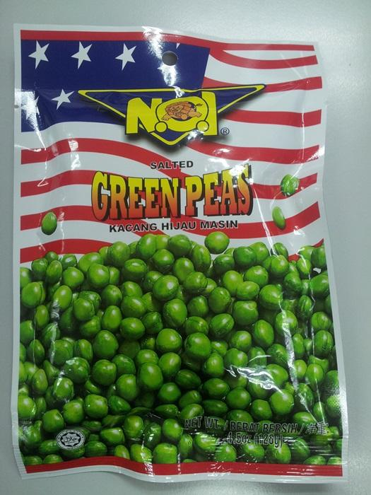 No1 Salted Green Peas 128g