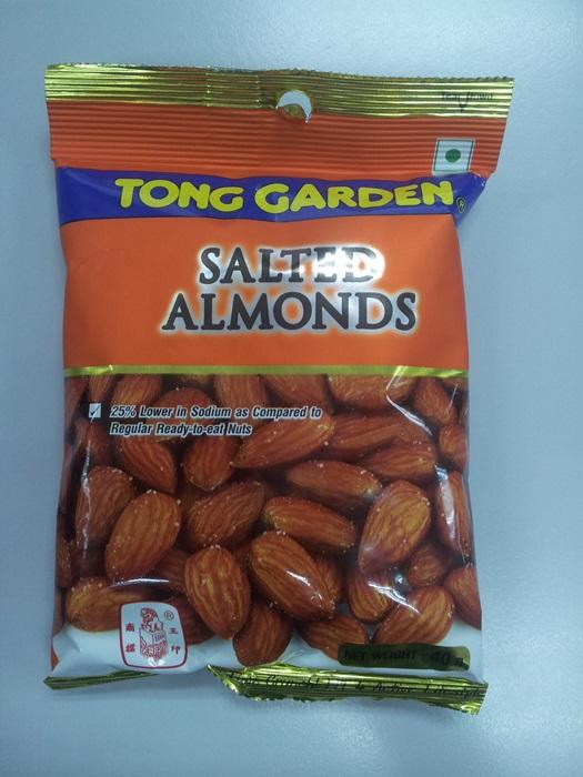 Salted Almonds 40g