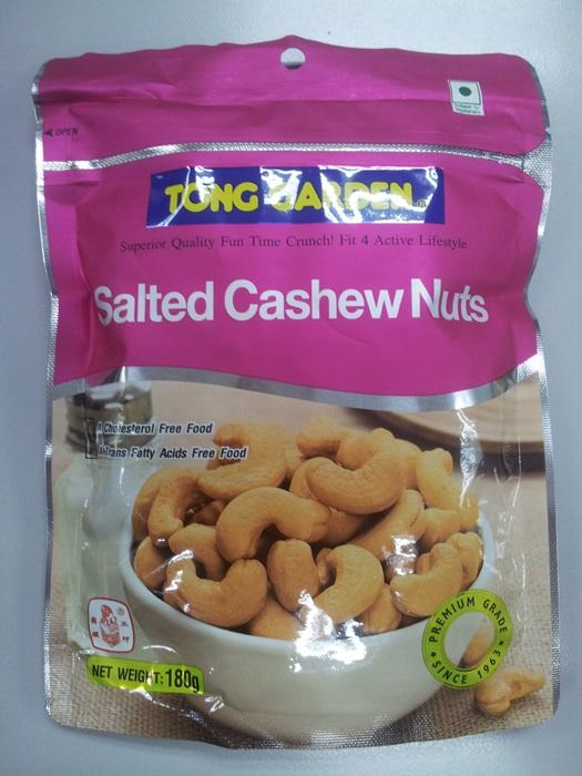 Salted Cashewnuts 180g
