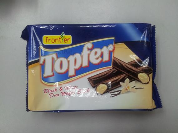 Topfer 120g Black White