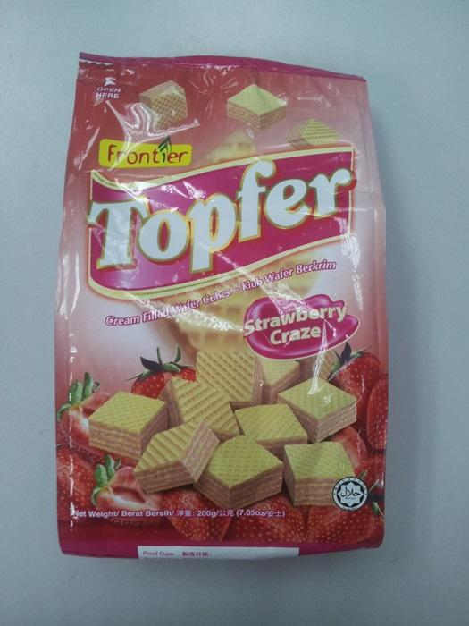Topfer 200g Strawberry