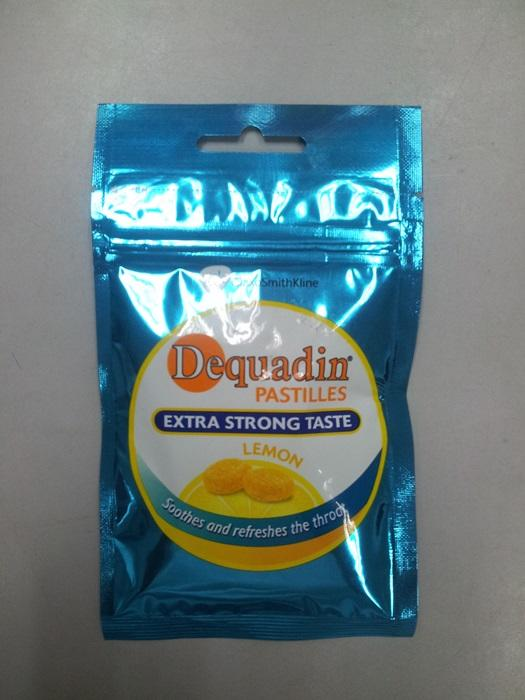Dequadin Extra Strong Taste Lemon 20g