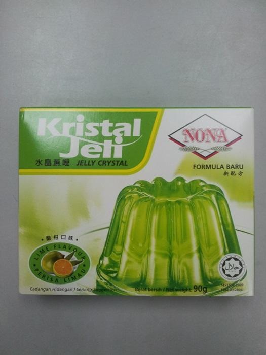 Crystal Jelly Lime 85g