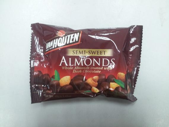 VH 40g Semi Sweet Almonds