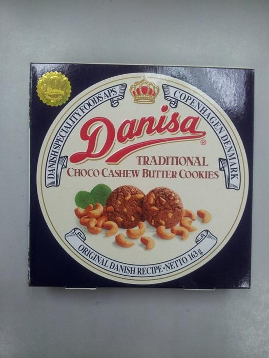 Danisa Chocolate Cashew Butter Cookies 163g
