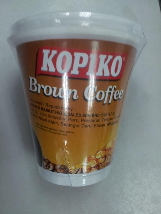 Kopiko Cup Brown Coffee