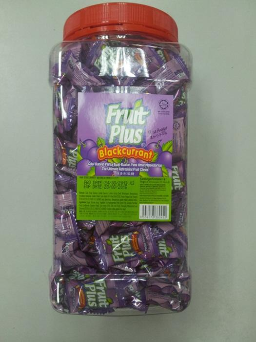 Fruit Plus 350's Blackcurrant