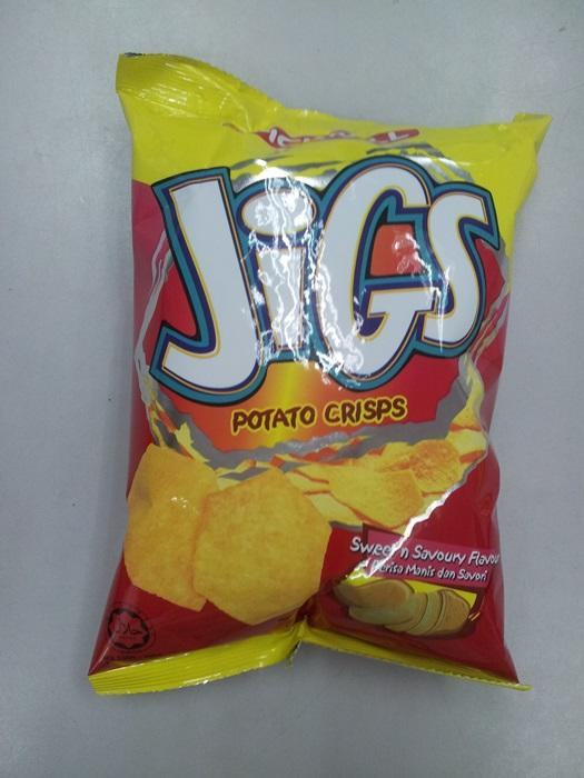 Jigs Potato Chips 60g Sweet&Savoury