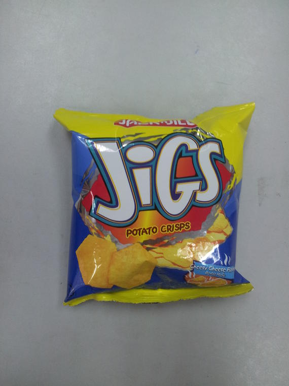 Jigs Potato Chips 20g Cheese