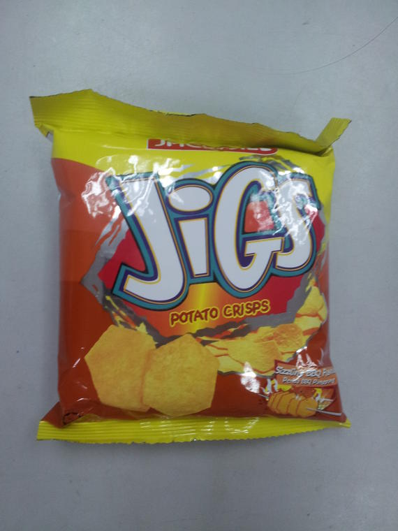Jigs Potato Chips 20g BBQ