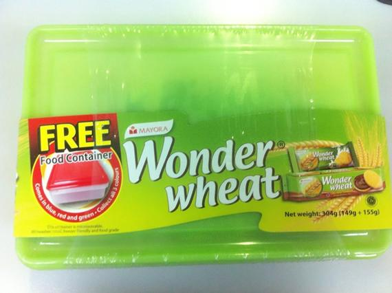 Wonder Wheat Container