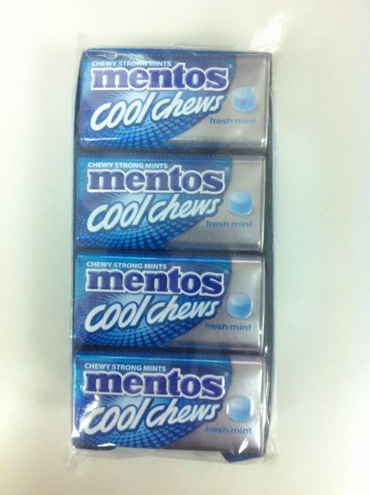 Mentos Tin Cool Chews Fresh Mint