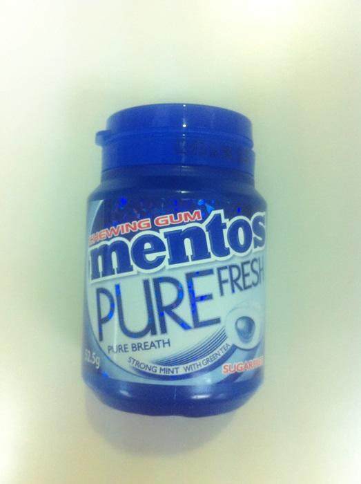 Mentos Pure Fresh 52g Strong Mint