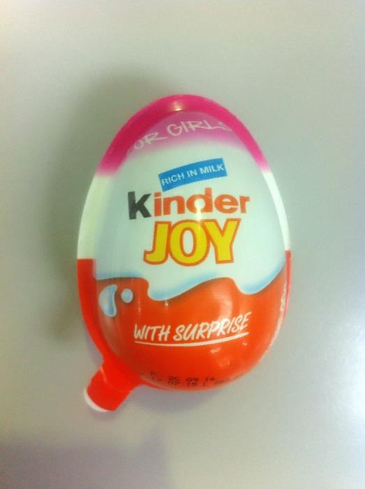Kinder Joy for Girls