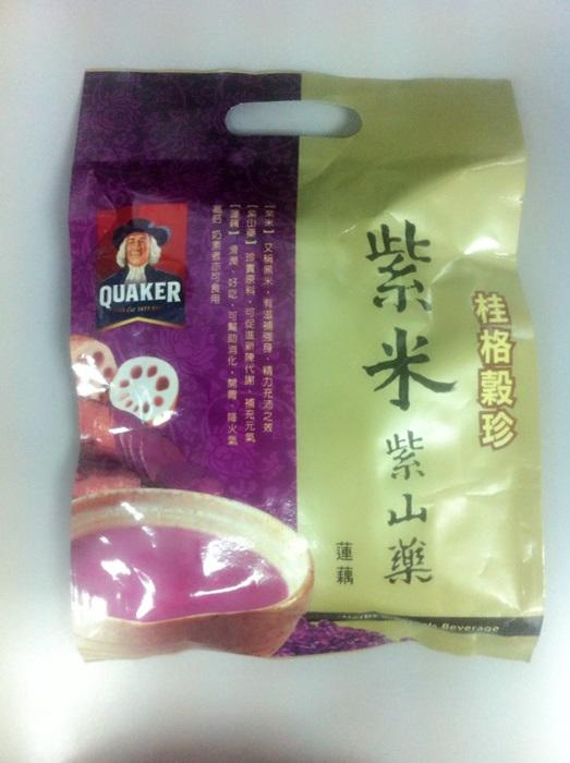 Quaker Purple Yam Lotus Root