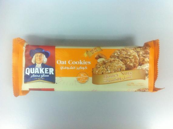 Quaker Oat Cookie 108g Honeynuts