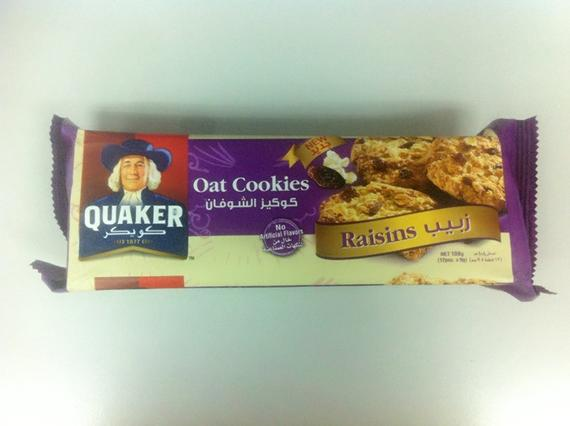 Quaker Oat Cookie 108g Raisin
