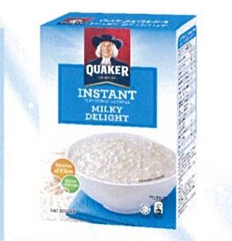 Quaker Instant Oatmeal Milky 8sx30g