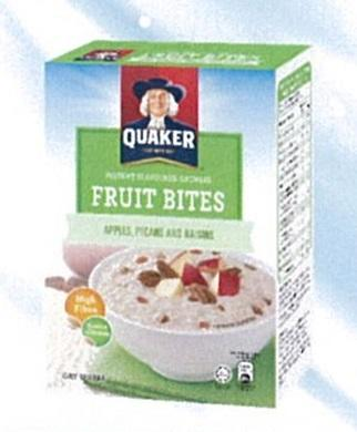 Quaker Instant Oatmeal Apple Pecans Raisin 6x30g